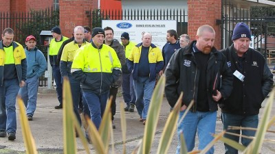 Redundant workers as electricity  costs close factories