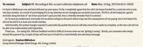AGL call