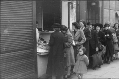 rationing queue
