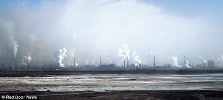 toxic lake china