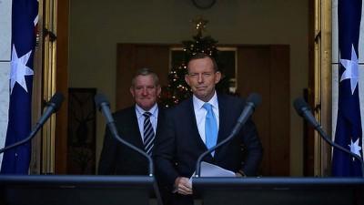 Tony Abbott macfarlane 18.12.13