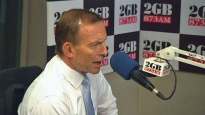 tony abbott on 2GB