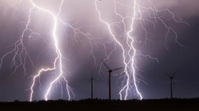 lightning fan
