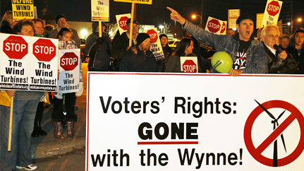 ontario protesters