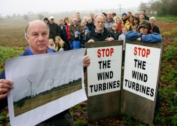stop wind turbines