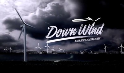 down wind