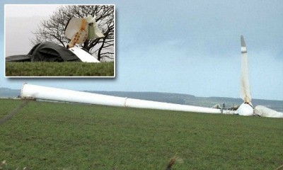 turbine collapse devon