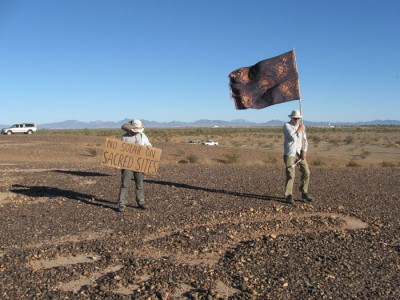 """No Solar on Sacred Sites"" – The fight to save the Blythe Intaglios."