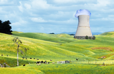 Do wind turbines make about as much sense on intermixed agricultural/residential land as a nuclear reactor?
