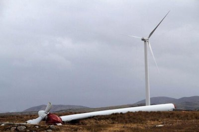Turbine collapse