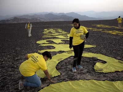 greenpeace desert destruction