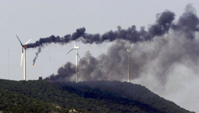 turbine fire Trent-Wind-Farm