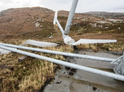 turbine collapse dornoch
