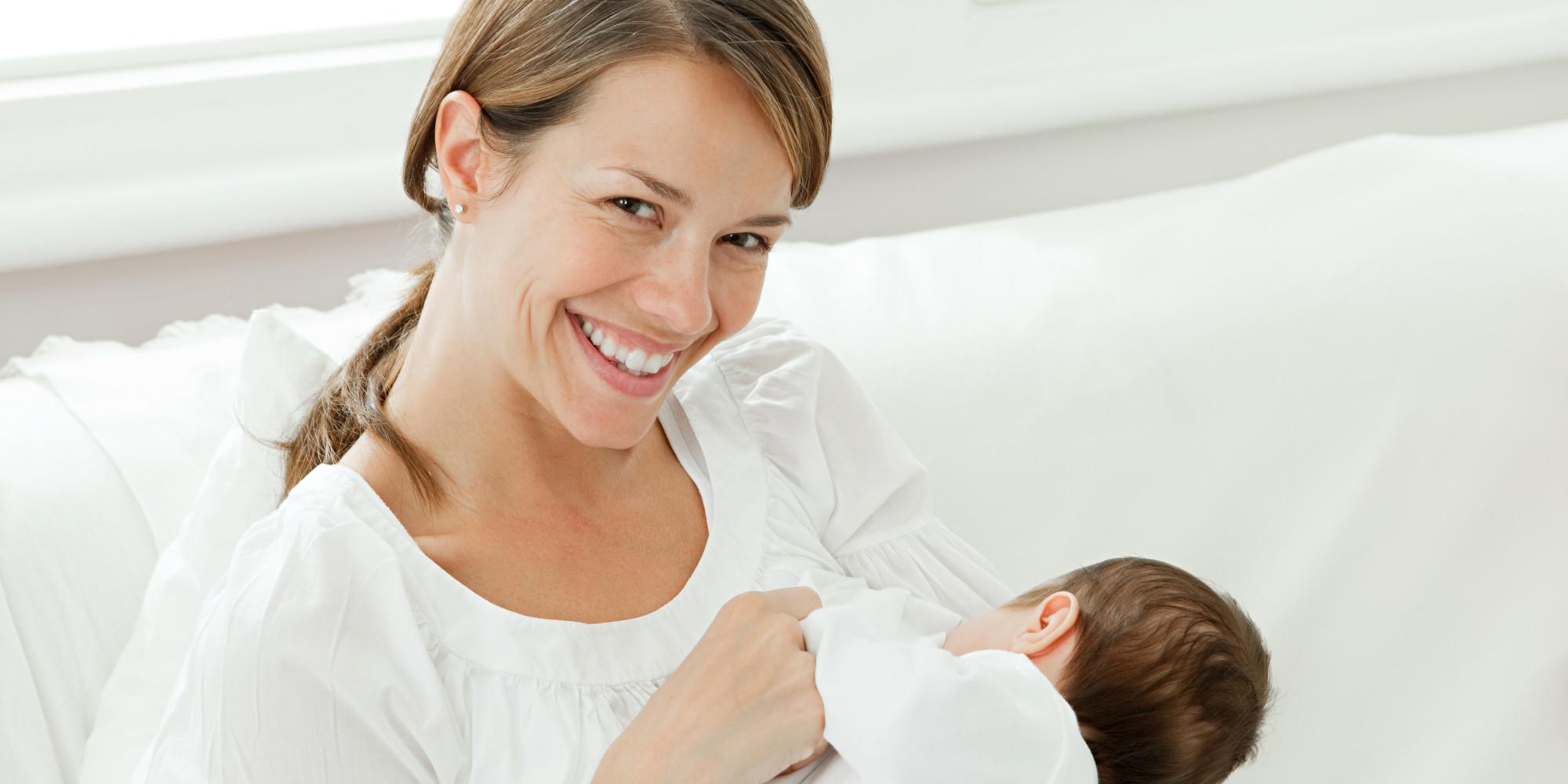 Milk breast feeding porn