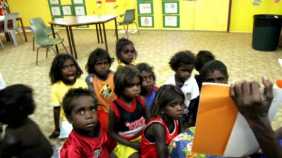 aboriginal school kids