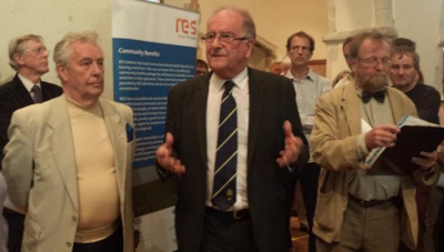 Sir Roger Gale MP spoke against the plans
