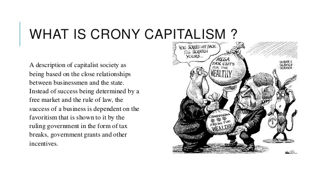 Let's Wage War Against Government Favors & Crony Capitalism
