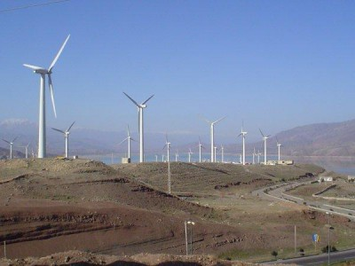 manjil wind farm