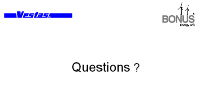 vestas questions