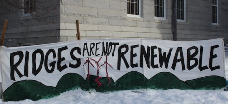 ridges not renewable