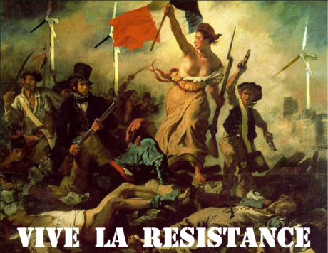 vive la resistance