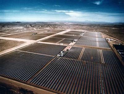 solar power mojave-desert