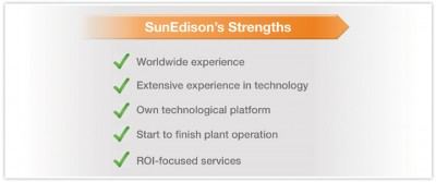 Sun edison strengths
