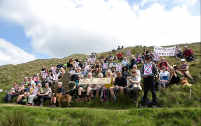 Scoutmoor protest