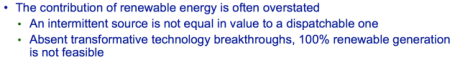 Figure 12. Excerpt from Keynote Address slide at US Energy Administration Conference by Steve Kean of Kinder-Morgan.