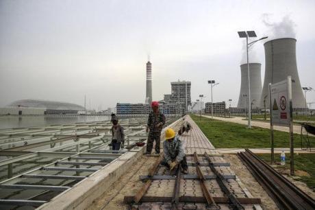 coal plant china